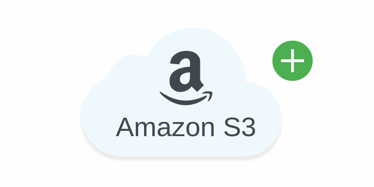 planeupload aws s3 button